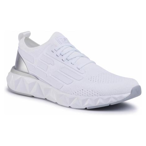 Sneakersy EA7 EMPORIO ARMANI - X8X048 XK113 00175 White/Silver