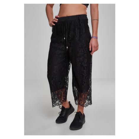 Dámske nohavice URBAN CLASSICS Ladies Laces Culotte