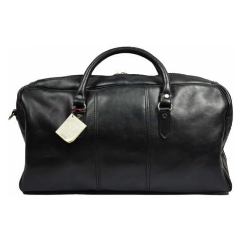 Kožená cestovná taška Brunilde Nera