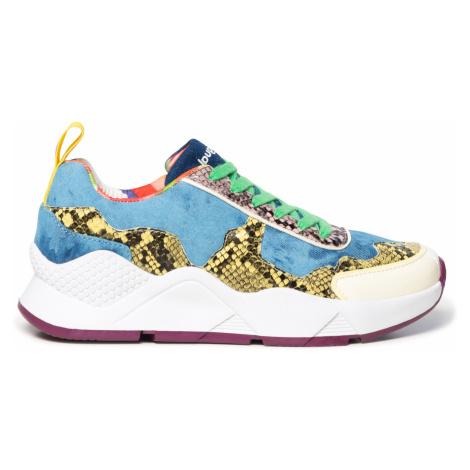 Desigual farebné tenisky na platforme Shoes Hydra Hybrid