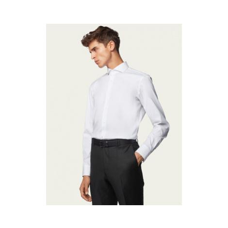 Boss Košeľa Jason 50260064 Biela Slim Fit Hugo Boss