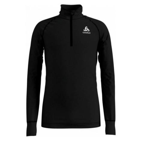 Odlo BL TOP TURTLE NECK L/S HALF ZIP ACTIVE WARM čierna - Detské tričko