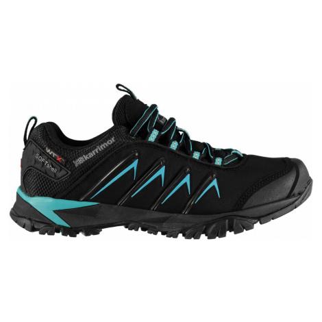 Karrimor Surge Soft Shell WTX Ladies Walking Shoes Black/Teal