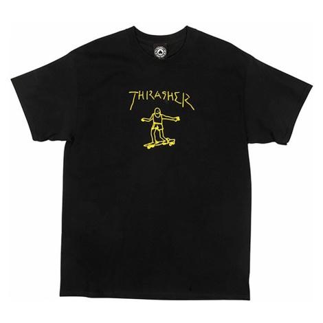 Pánske tričko Thrasher Gonz S/S black Farba: Čierna