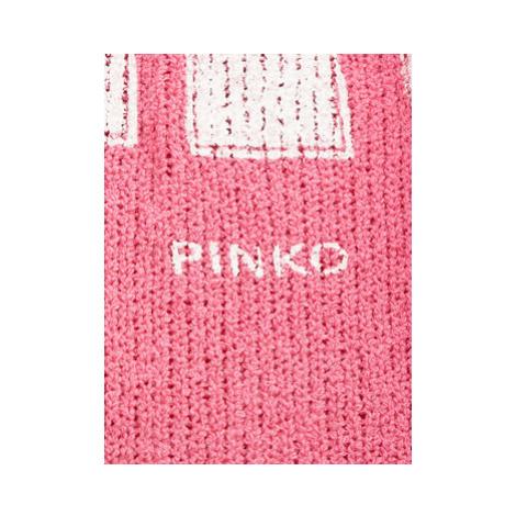 Pinko Sveter PE 19 PJEAN 1X10H7 Ružová Regular Fit