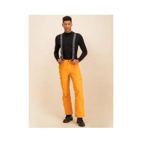 Spyder Lyžiarske nohavice Dare 191026 Oranžová Regular Fit