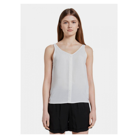 Tom Tailor Denim White Women's Top