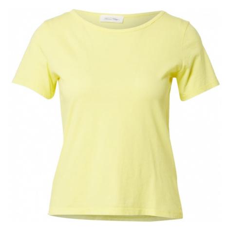 AMERICAN VINTAGE Tričko 'Decatur'  žltá