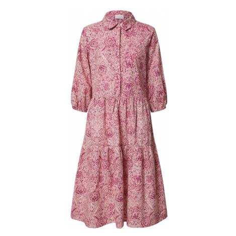 VILA Košeľové šaty 'VIOLICIA'  ružová