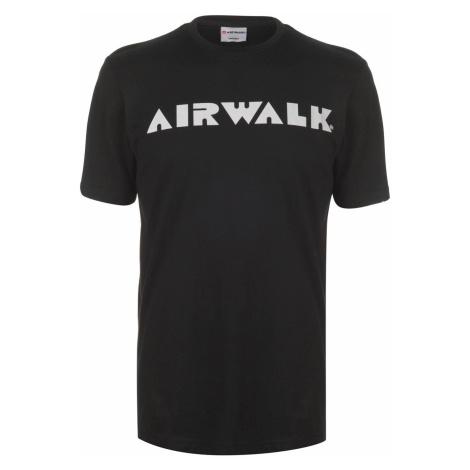 Triko Airwalk Logo Tee Sn93 Black
