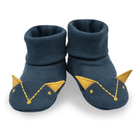 Modré topánky pre dojčatá a batoľatá