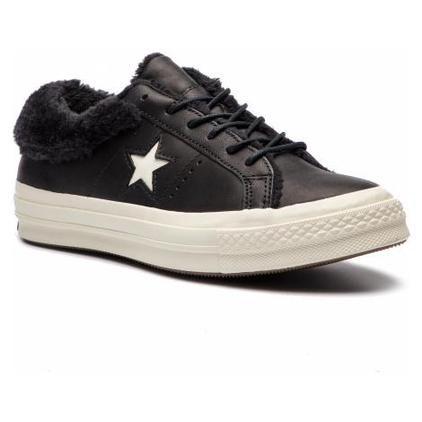 Tenisky CONVERSE - One Star Ox 162601C Black/Black/Egret