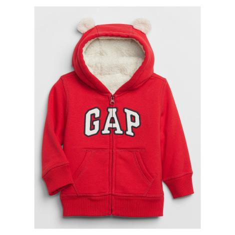 GAP červené chlapčenská mikina