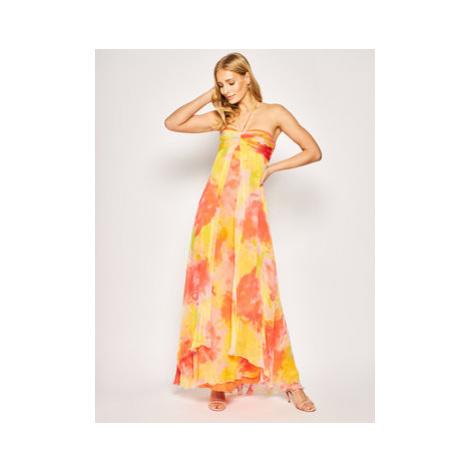 Pinko Letné šaty Mulan PE 20 PBK2 1B14FU 8032 Farebná Regular Fit