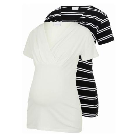 MAMALICIOUS Tričko  biela / čierna Mama Licious
