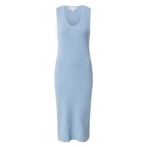 NU-IN Pletené šaty  svetlomodrá