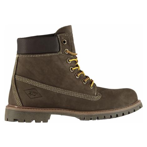 Lee Cooper C 6in Boot Jnr92 DK Brown