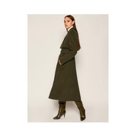 Sportmax Code Prechodný kabát Balsamo 70160306 Zelená Regular Fit