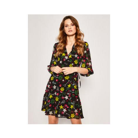 Liu Jo Každodenné šaty WA0259 T0110 Čierna Regular Fit