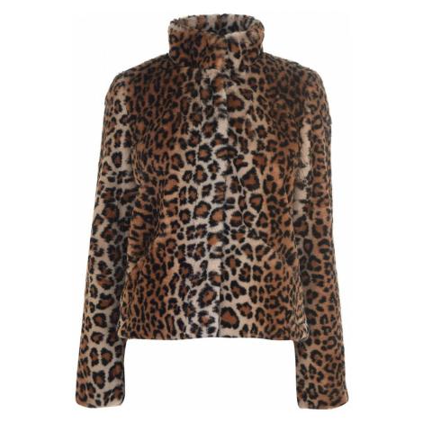Only Vida Faux Fur Coat Leopard