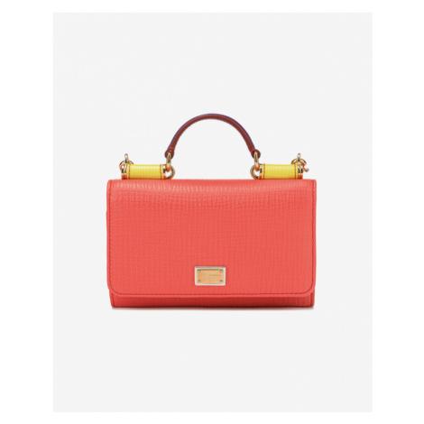 Dolce & Gabbana Cross body bag Červená Oranžová