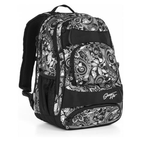 Študentský batoh Topgal HIT 894 A - Black