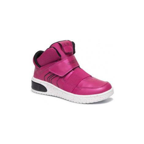 Geox Sneakersy J Xled G. A J848DA 0NF6K C8062 D Ružová