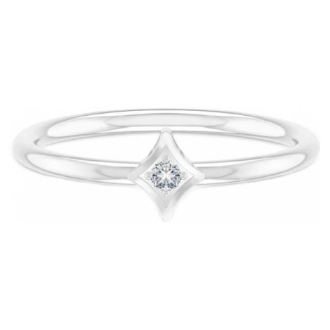 ID Fine Prsteň 'North Star Ring'  strieborná