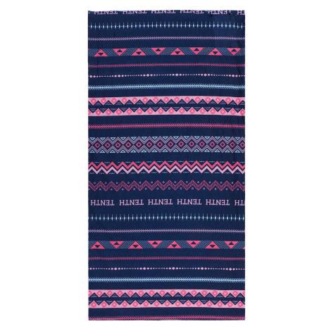 multifunctional scarf Printemp pink triangle stripes Husky