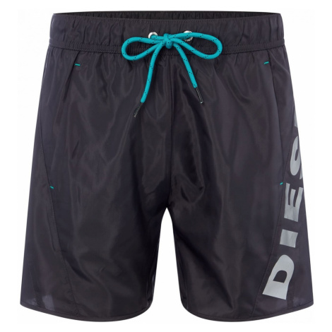 Diesel Men's Reflective Logo Swim Shorts