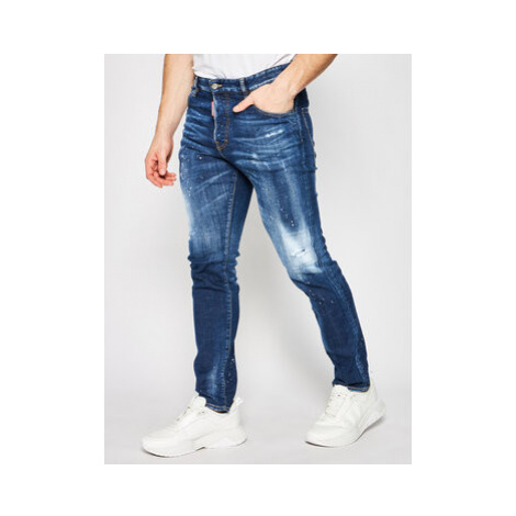 Dsquared2 Skinny Fit džínsy Sexy Mercury S74LB0672 Modrá Skinny Fit Dsquared²