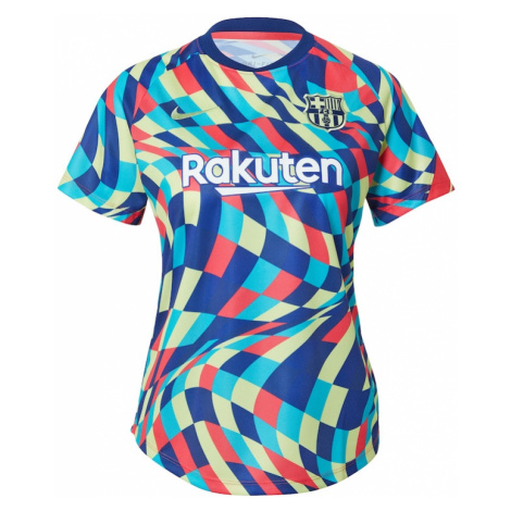 NIKE Dres 'FC Barcelona'  modrá / vodová / horčicová / biela / melónová