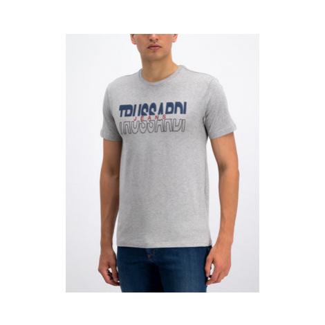 Trussardi Jeans Tričko 52T00277 Sivá Regular Fit