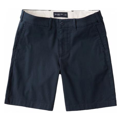 Abercrombie & Fitch Nohavice  námornícka modrá