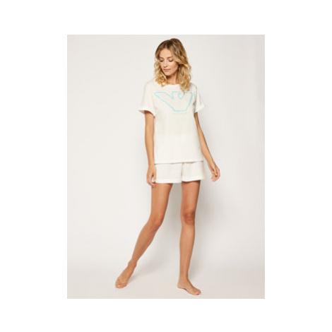 Emporio Armani Underwear Pyžamo 164331 0P255 00110 Biela Regular Fit