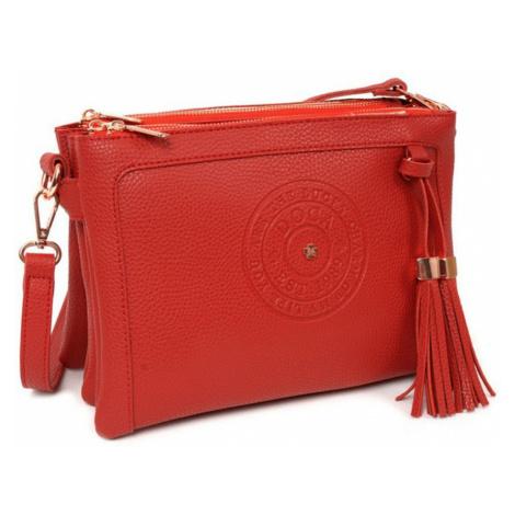 Červená kabelka – Logo D . . A