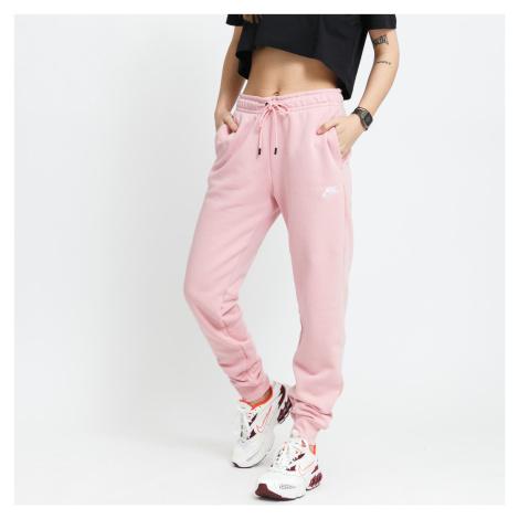 Nike W NSW Essential Pant Reg Fleece ružový