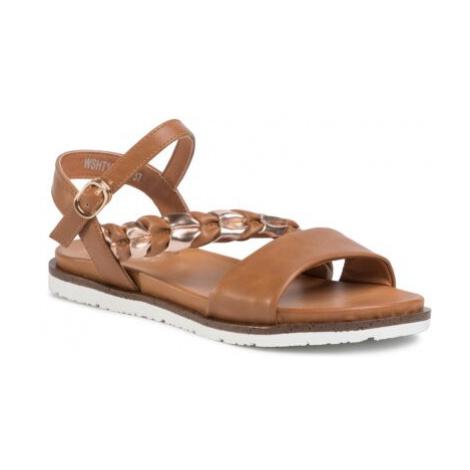 Sandále Jenny Fairy WSHT180-01 Imitácia kože/-Imitácia kože