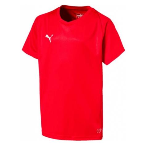 Puma LIGA JERSEY CORE JR červená - Detské tričko