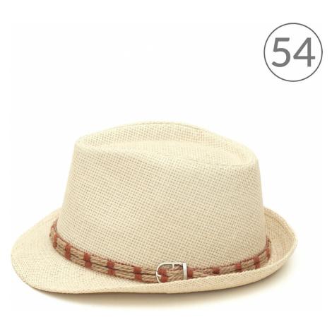 Art Of Polo Unisex's Hat cz16156 Light Brown/Light Beige
