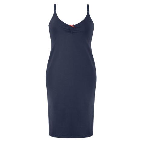 Mateřská noční košilka Mitex EASY DRESS Tmavě modrá