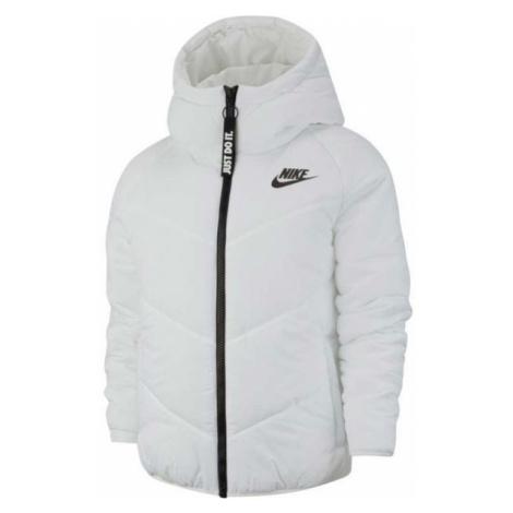 Nike NSW WR SYN FILL JKT HD biela - Dámska bunda