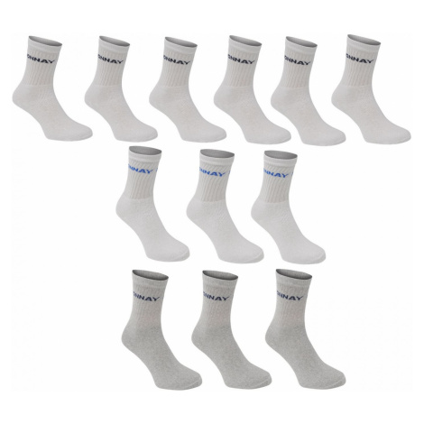 Donnay Crew Socks 12 Pack Mens