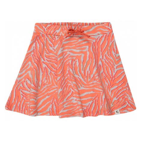 GARCIA Sukňa 'O04721_girls skirt'  sivá melírovaná / oranžová Garcia Jeans