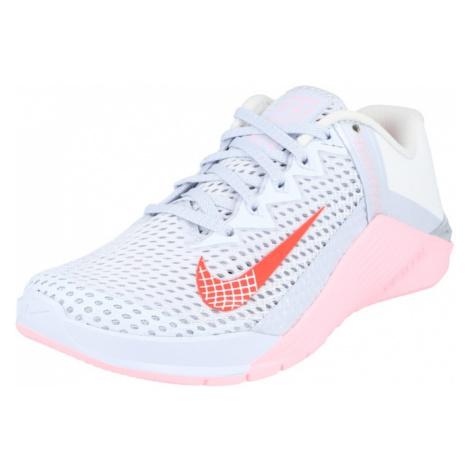 NIKE Športová obuv 'Metcon 6'  azúrová / biela / oranžová / ružová