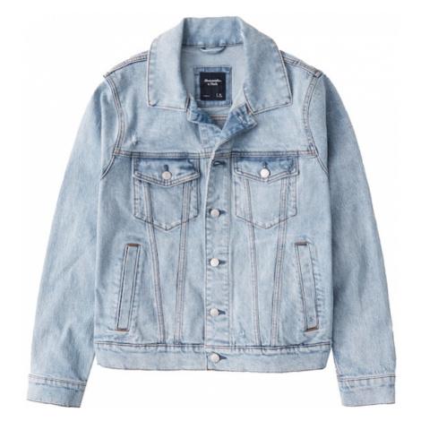 Abercrombie & Fitch Prechodná bunda  modrá denim