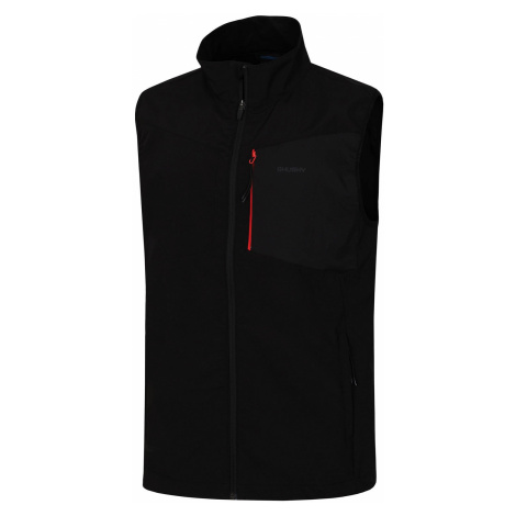 Husky Salien čierna, Pánska softshellová vesta
