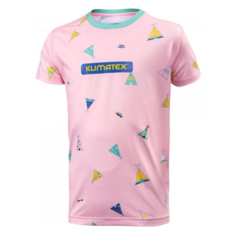 Klimatex ELILO ružová - Detské tričko