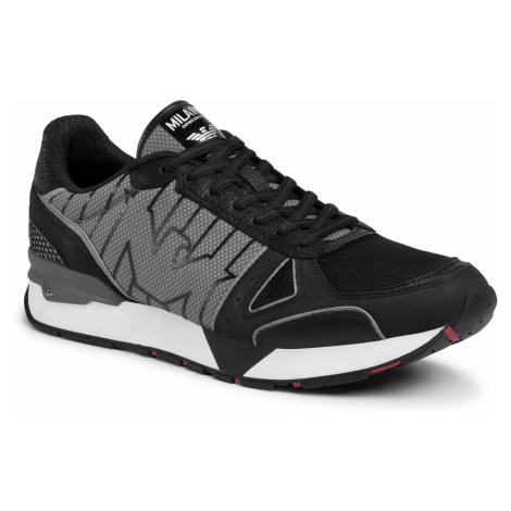 Sneakersy EMPORIO ARMANI - X4X289 XM232 B810 Black/Griffin