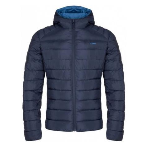 Loap IROSAN tmavo modrá - Pánska obojstranná bunda